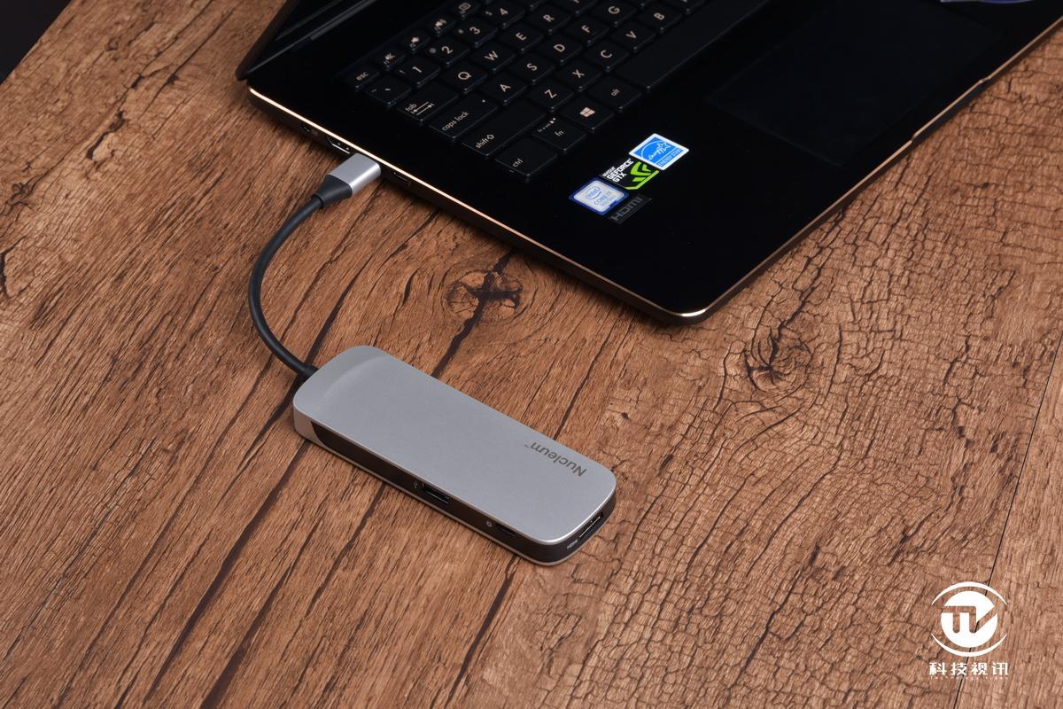 增強輕薄本擴展 金士頓Nucleum USB Type-C集線器評測