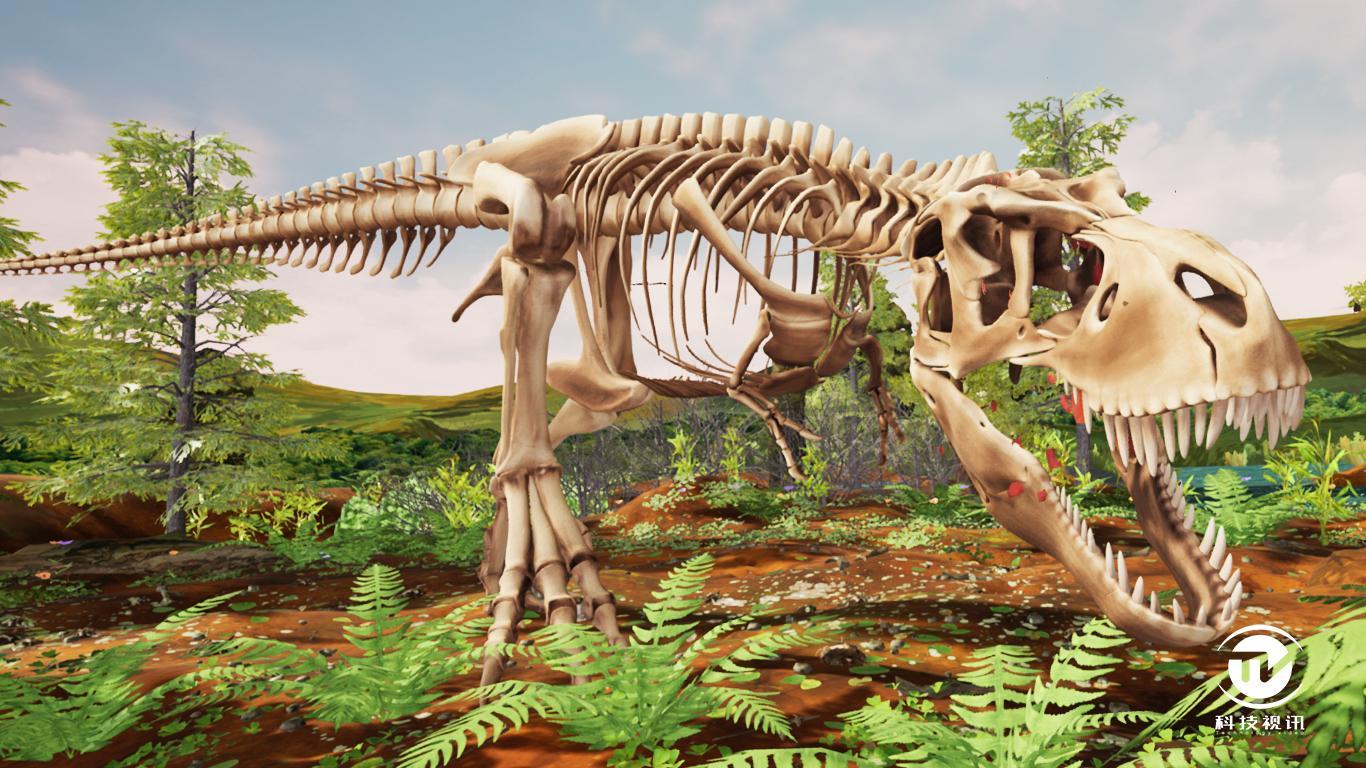 《T. Rex:Skeleton Crew》家用版VR体验(5).jpg
