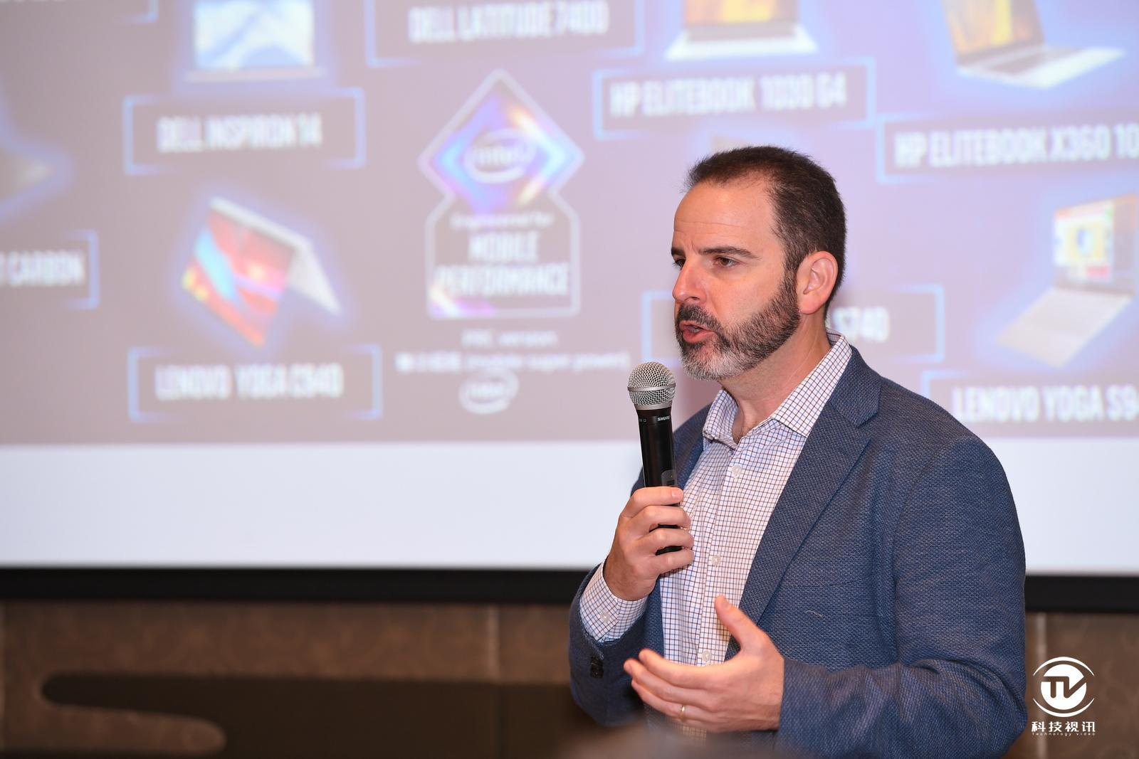 英特爾公司客戶端計算事業部副總裁、移動創新部門總經理Josh Newman.JPG