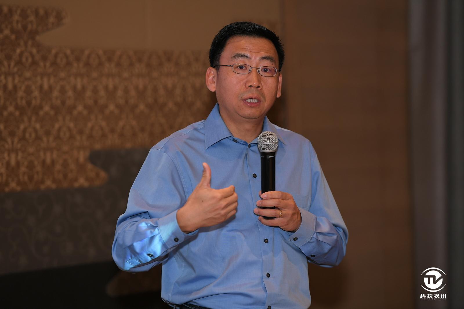英特爾公司客戶端計算事業部副總裁、終端客戶工程事業部總經理Sam Gao.JPG
