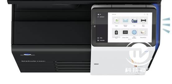 2-柯尼卡美能达全新bizhub C360i系列10.1英寸超大操作面板和LED灯光提示功能