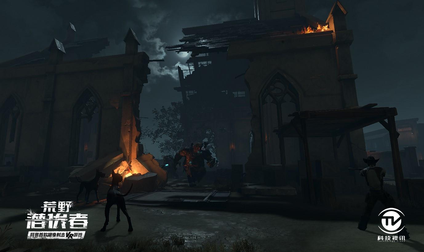 图二:游戏场景:阴森破败的教堂.jpg