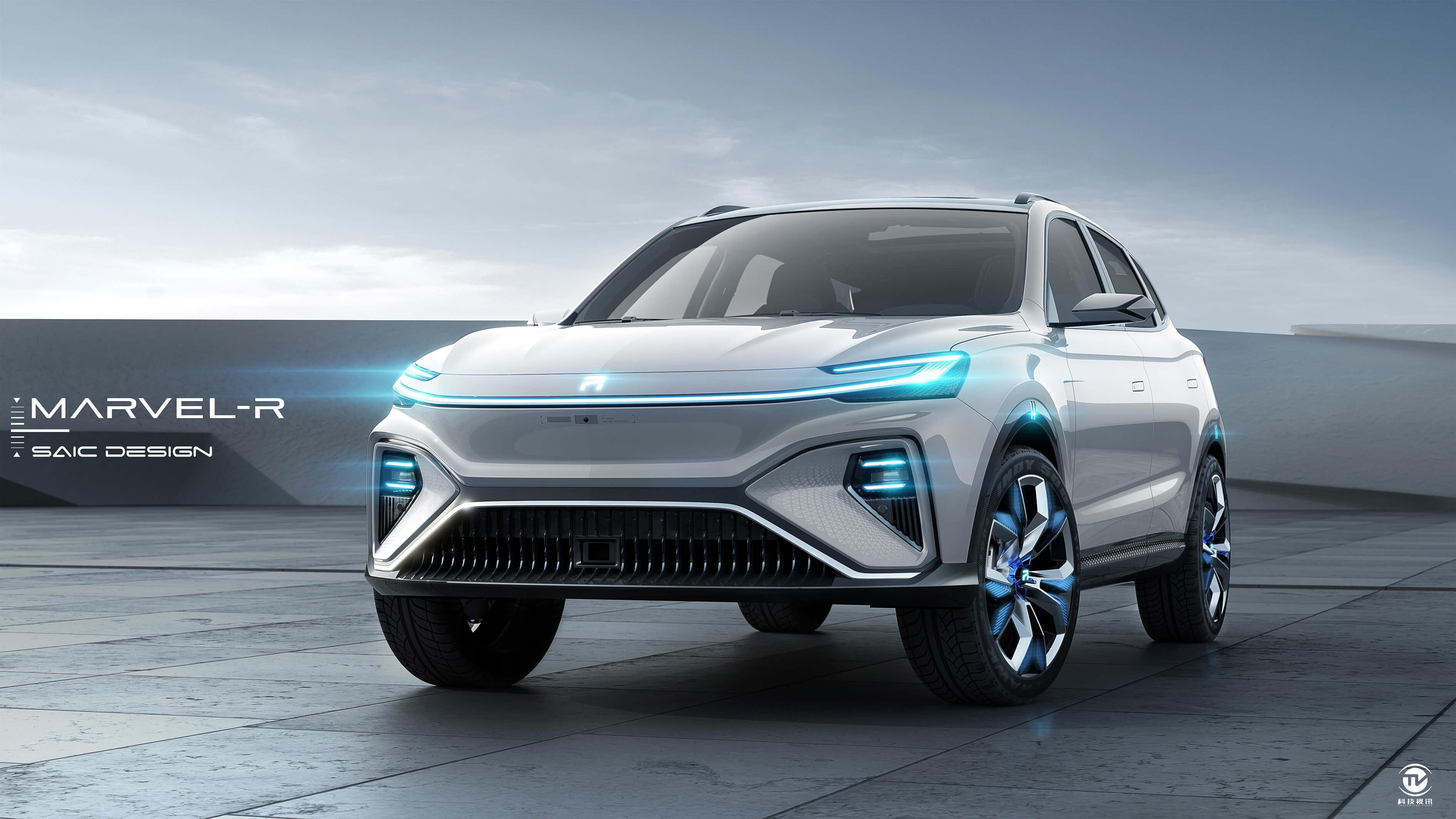 新闻稿配图3:搭载5G技术和L3级别自动驾驶辅助系统的量产车型——上汽荣威MARVEL-R.jpg