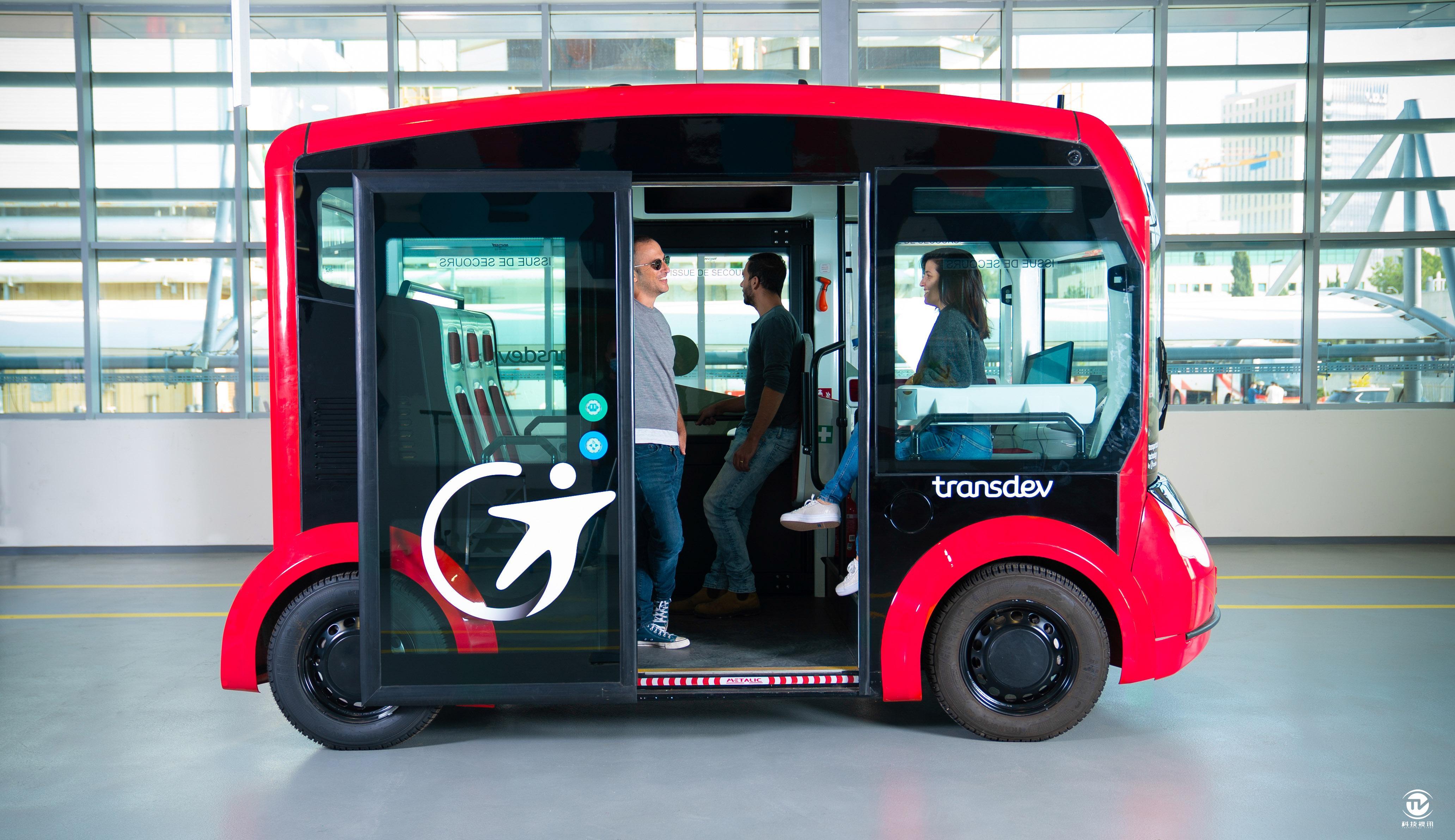 英特尔子公司Mobileye、Transdev ATS和Lohr 集团将联合开发自动驾驶公交车.jpg