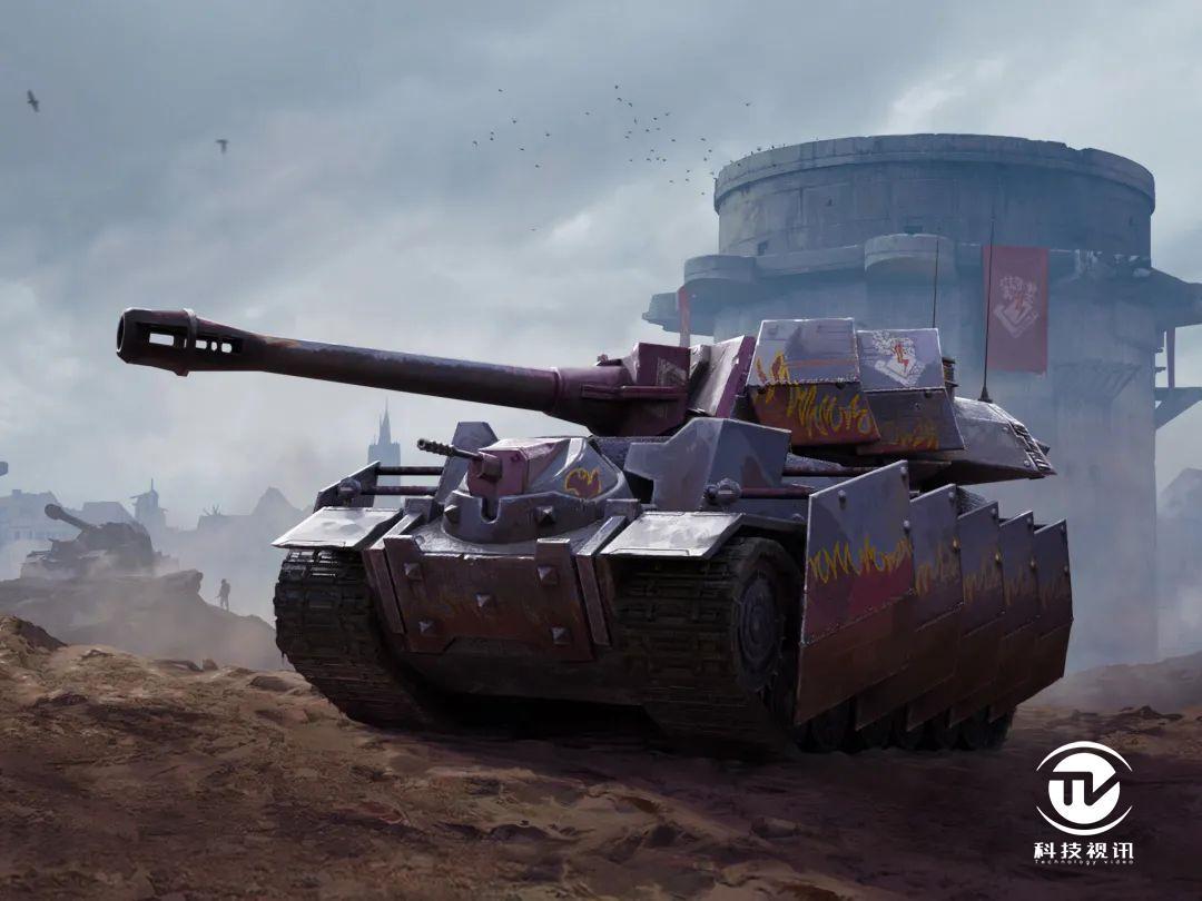 图四:瓦尔肯炮塔和车身侧面均装有间隙装甲.jpg