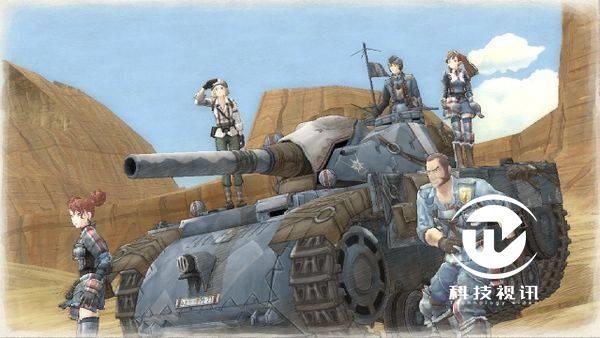 图二:《战场女武神》的画风和战斗系统都极具特色.jpg